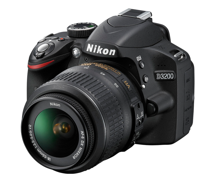 My New Nikon DSLR D3200