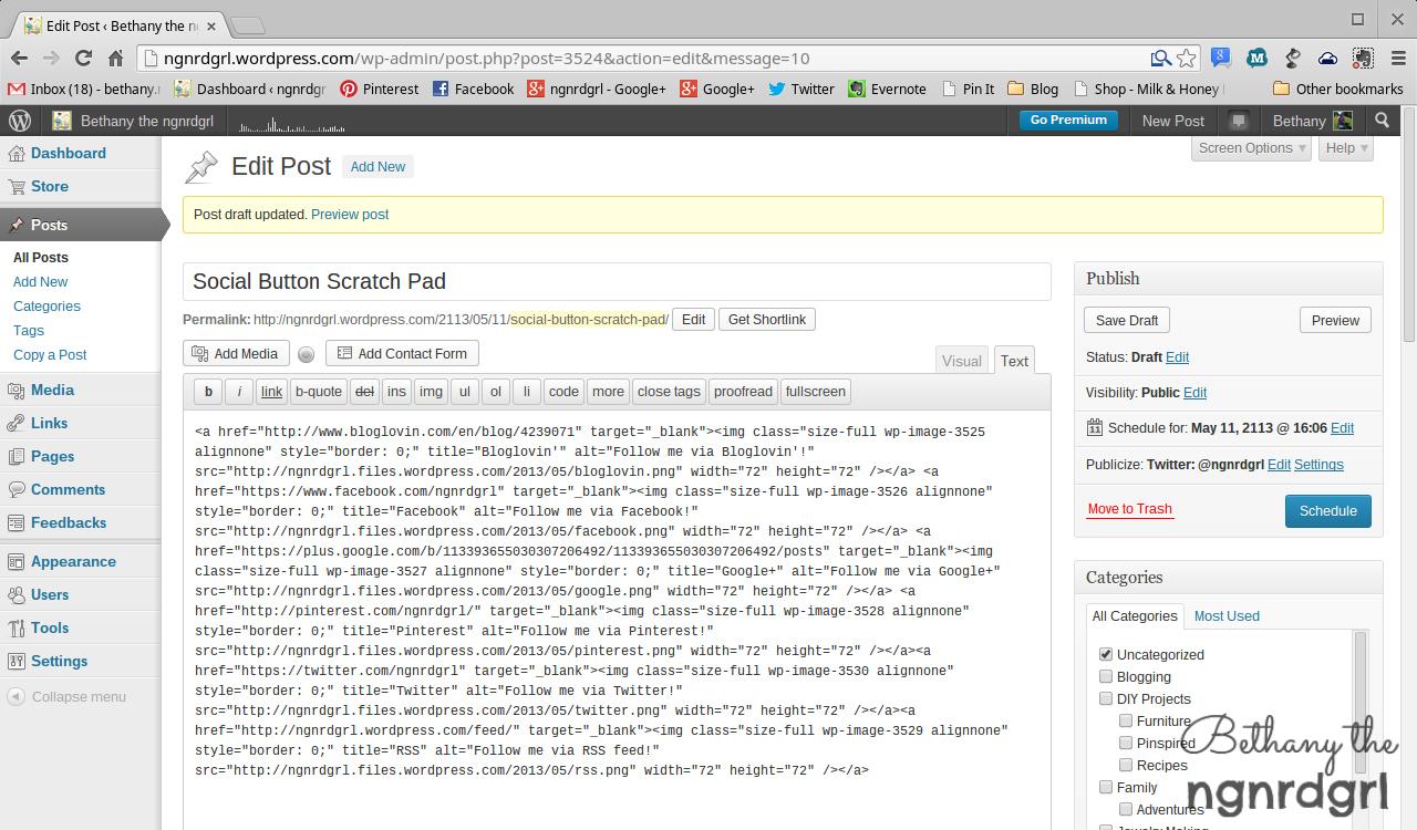 Grab HTML Code